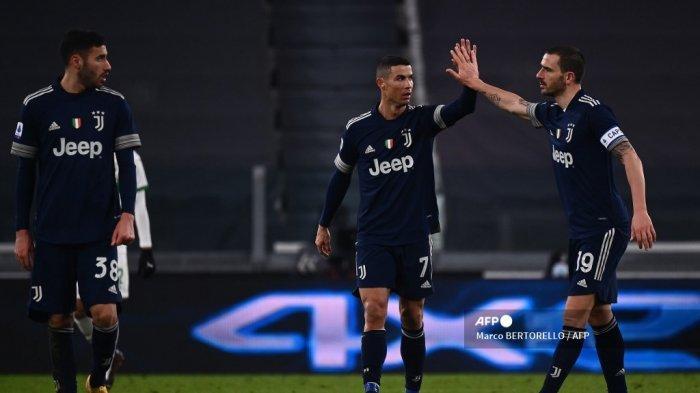 JADWAL Liga Italia, Inter vs Juventus, Bastoni Percaya Diri Redam Ronaldo, Live RCTI, Gratis