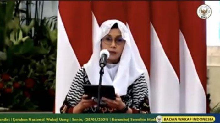 Sri Mulyani Mengaku Sudah Kumpulkan Wakaf Tunai Rp 382 Miliar