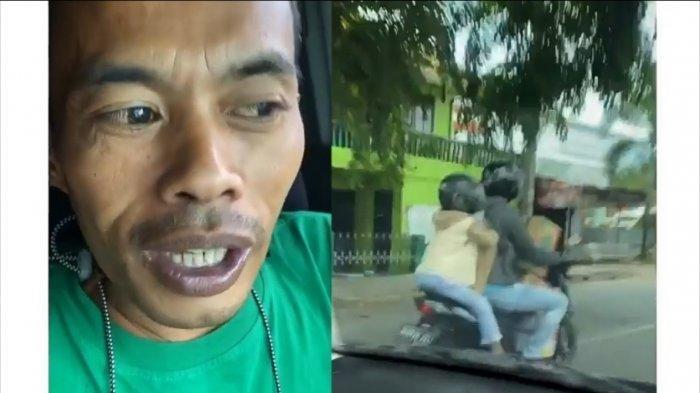Viral Ade Londok Komentari Kasar Ayah Bonceng Anak Bawa Kardus, si Bocah Sempat Murung & Ogah Main