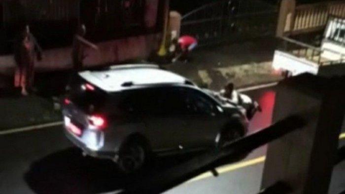 Viral Video Istri Teriak Selingkuhan Saat Adang Mobil yang Diduga Milik Wakil Ketua DPRD Sulut